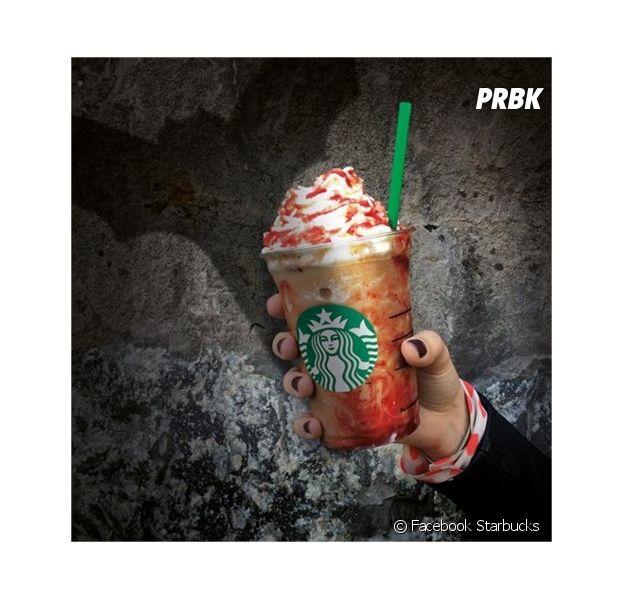 Starbucks : une boisson sanglante pour Halloween