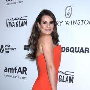 Lea Michele glamour et engagée pour la lutte contre le sida