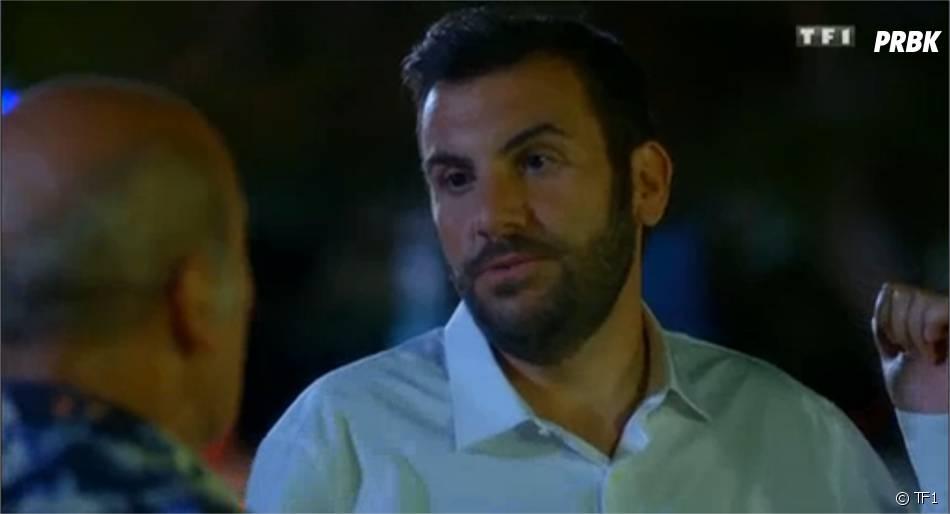 Laurent Ournac dans l'épisode de Camping Paradis diffusé le 9 novembre 2015 sur TF1