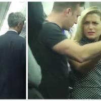Expérience sociale : elle se fait harceler par un homme dans le métro, les passagers réagiront-ils ?