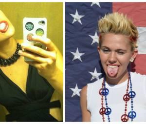 Une compilation d'images de la célèbre sosie de Miley Cyrus
