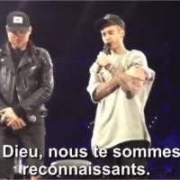 Justin Bieber ému après les attentats de Paris : son appel à la prière en plein concert