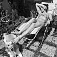 Laury Thilleman sexy en bikini sur Instagram, le 11 mai 2015