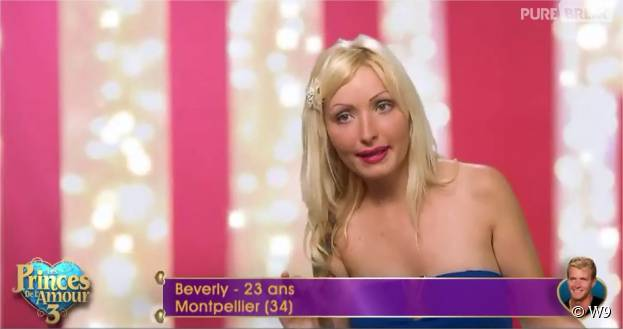 Beverly (Les Princes de l'amour 3) dans l'épisode du 23 novembre 2015 sur W9