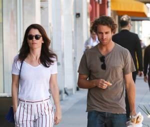 Robin Tunney (Mentalist) et son fiancé Nicky Marmet à Los Angeles
