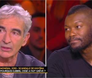 Djibril Cissé VS Raymond Domenech : cinq ans plus tard, ils s'expliquent sur la grève du bus à Knysna pendant la Coupe du Monde en Afrique du Sud, dans Touche pas à mon sport sur D8