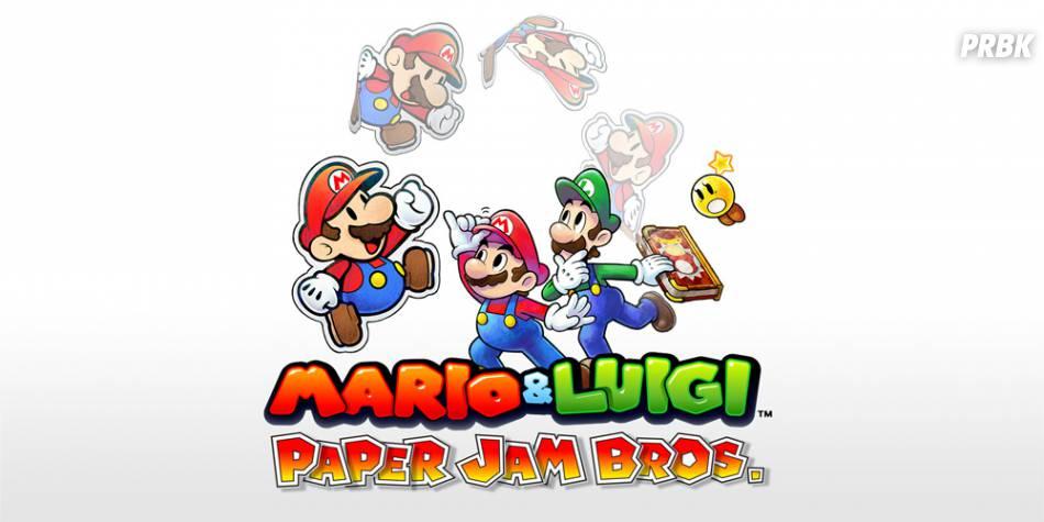 Mario & Luigi - Paper Jam Bros est disponible sur 3DS depuis le 4 décembre 2015