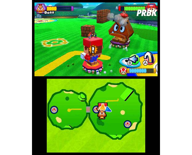 Mario & Luigi - Paper Jam Bros : une image du jeu