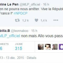 Nabilla Benattia répond à Marine Le Pen sur Twitter et se moque du FN après les régionales