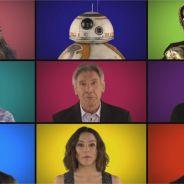 Star Wars - Le réveil de la force : les stars du film chantent la BO a capella, et c'est génial