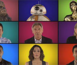 Star Wars 7 : les acteurs chantent A Capella les thèmes de la saga