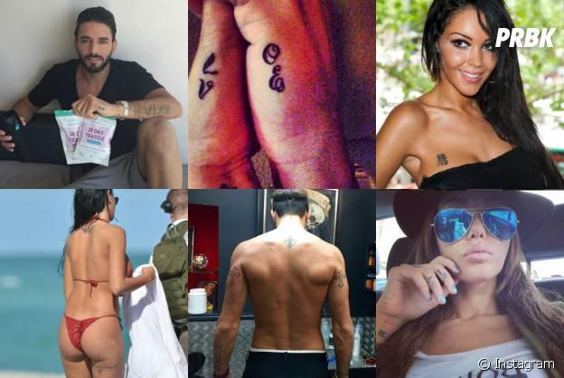 Thomas Vergara et Nabilla Benattia : leurs tatouages