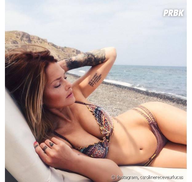 Caroline Receveur tatouages