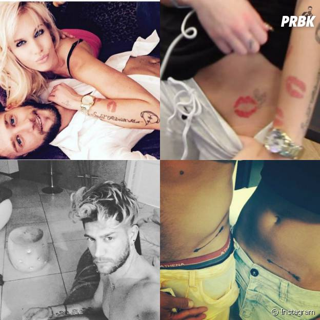 Adixia et Paga tatoués