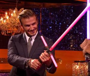 David Beckham : combat au sabre laser face à John Boyega