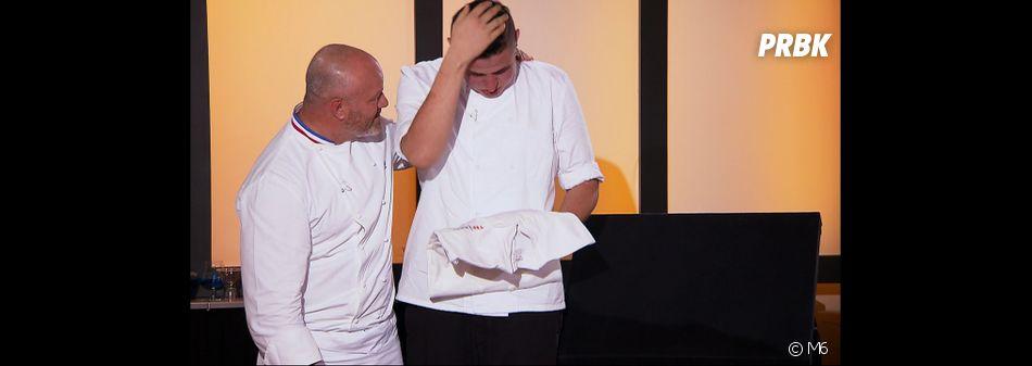 Top Chef 2016 : Charles Gantois premier candidat ému