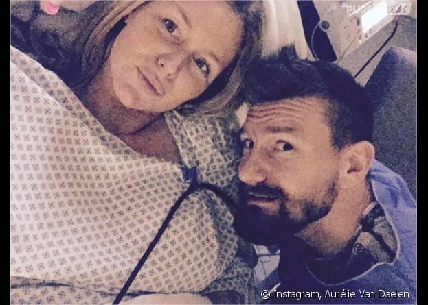 Aurélie Van Daelen enceinte : la star à l'hôpital pour accoucher