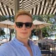 Matthieu Delormeau en vacances en Thaïlande sur Instagram fin décembre 2015
