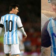 Lionel Messi à la recherche du petit réfugié irakien fan de lui