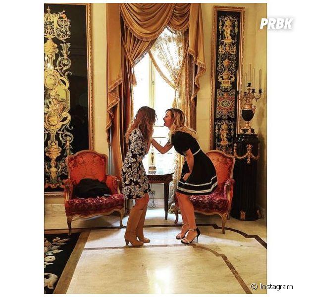 Capucine Anav et Emilie Nef Naf dans les coulisses de Top Model Belgium 2016
