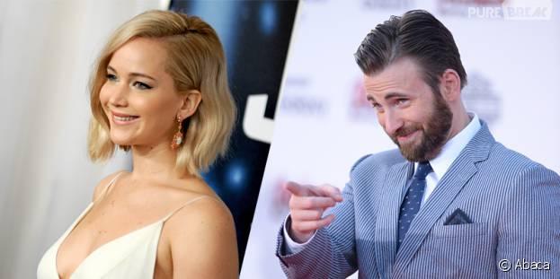 Jennifer Lawrence et Chris Evans en couple ?