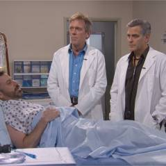 George Clooney reprend son rôle du Dr Ross (Urgences) face au Dr House... et c'est culte !