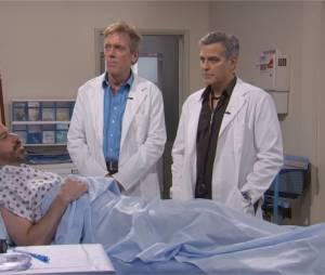 George Clooney et Hugh Laurie dans un crossover Urgences / Dr House