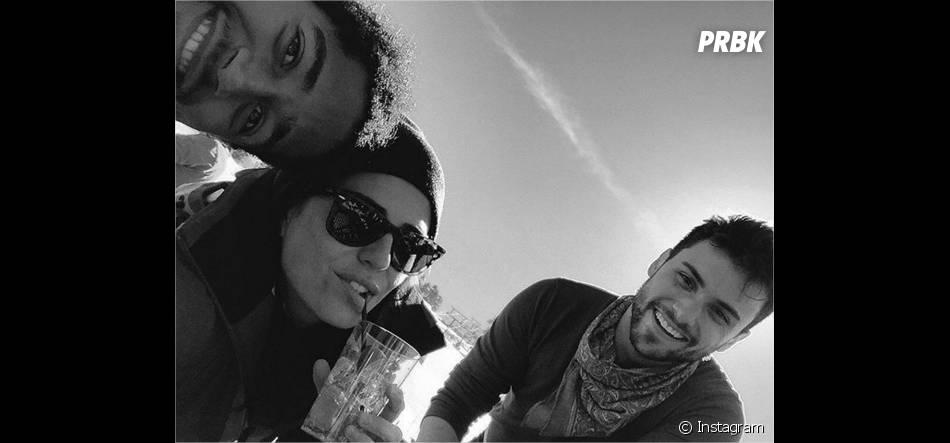 How To Get Away with Murder : Alfred Enoch, Karla Souza et Jack Falahee au ski