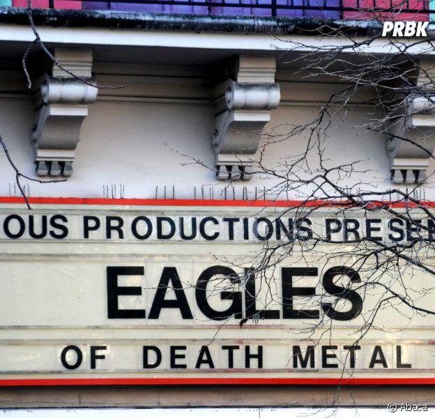 Eagles of Death Metal en concert à l'Olympia le 16 février 2016 : les rescapés du Bataclan invités