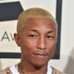 Pharrell Williams blond : apparition remarquée sur le tapis rouge des Grammy Awards 2016