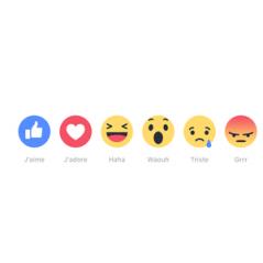 Facebook - Les nouveaux boutons débarquent : on peut enfin râler ou être triste