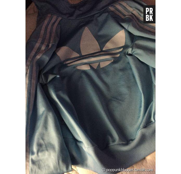 Veste adidas noir marron