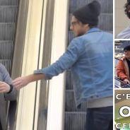 Comment réagiront ces hommes caressés par un inconnu dans des escalators ? La caméra cachée géniale