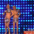 Gilles Verdez danse nu avec son sosie dans le prime de TPMP diffusé le 14 mars 2016 sur D8