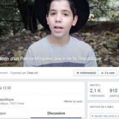 Sulivan Gwed (Un panda moqueur) menacé sur Facebook : l'event de la honte qui veut le lapider
