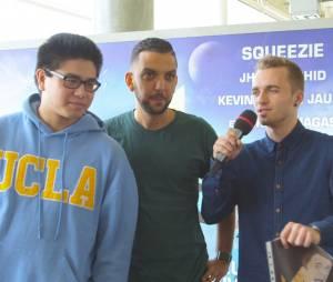 Squeezie, Jhon Rachid et Le Rire Jaune répondent aux questions de Pure Break.