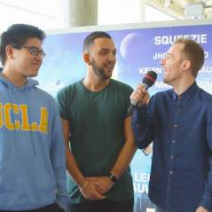 Squeezie, Jhon Rachid et Le Rire Jaune : anecdotes, DBZ et emojis, l'interview décalée !