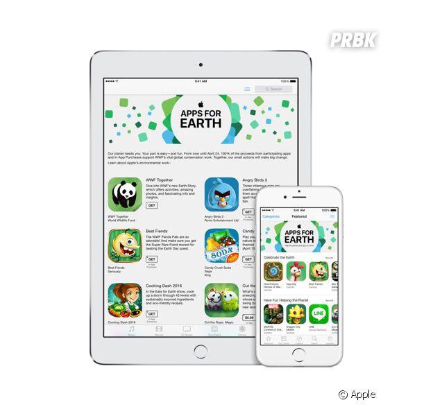 Apps pour la planète (AppsForEarth) : la belle initiative écolo d'Apple pour le WWF