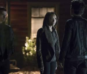 The Vampire Diaries saison 7, épisode 20 : Bonnie (Kat Graham) sur une photo