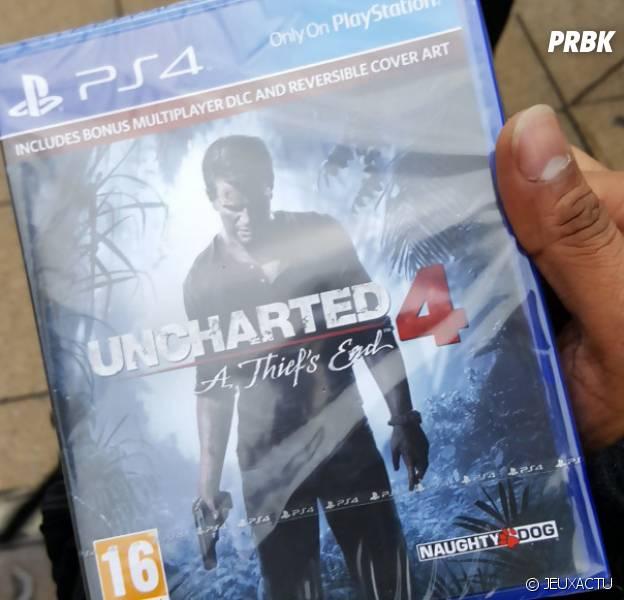 Uncharted 4 déjà en vente