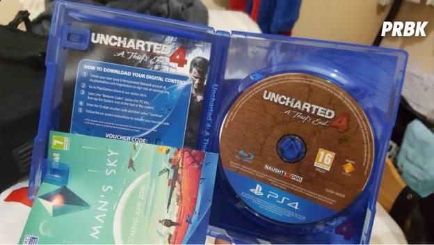 Uncharted 4 disponible avant l'heure !