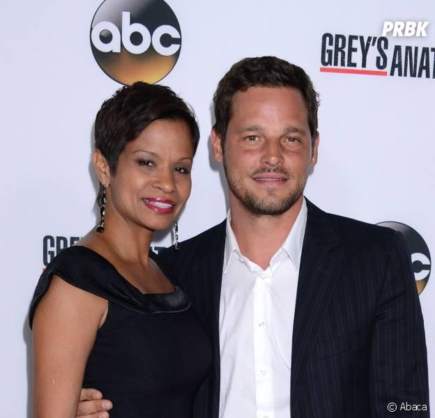 Justin Chambers et sa femme Keisha