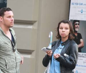 Justin Chambers et sa fille Isabella