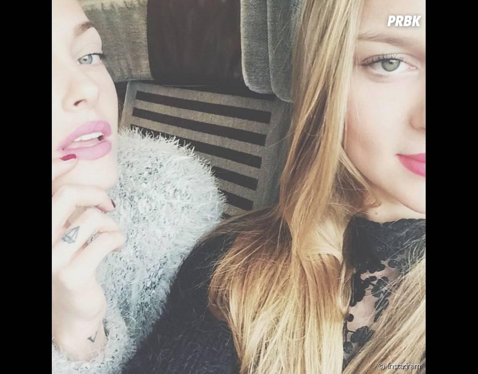 Caroline Receveur, elle et sa soeur aussi sont copies conformes.