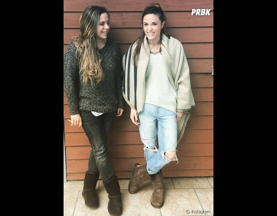 Les soeurs Anav, belles au naturel.