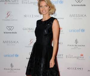 Sylvie Tellier au Global Gift Gala le 9 mai 2016 à Paris