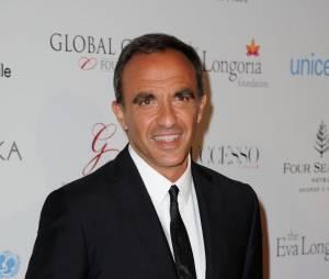 Nikos Aliagas au Global Gift Gala le 9 mai 2016 à Paris