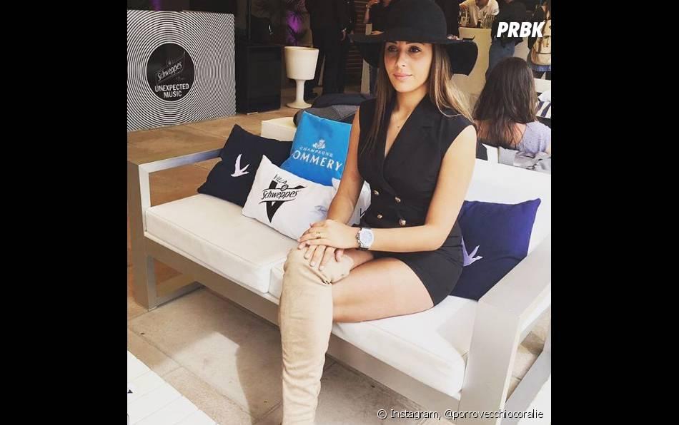 Coralie Porrovecchio profite de Cannes sur Instagram