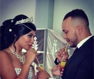 Jessica Da Silva (Les Anges 7) lors de son mariage avec Zack