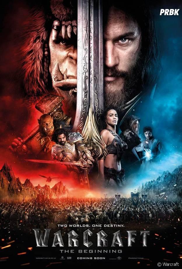 Affiche du film Warcraft
